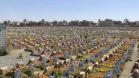 الحوثيون يحتفلون بالمولد النبوي في ذمار ويفتتحون المقبرة (18) لقتلاهم (صور)