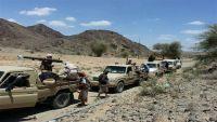 قوات الجيش الوطني تدخل أولى مناطق مديرية الملاجم بالبيضاء