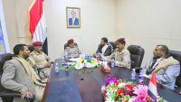 المقدشي يطّلع على سير العمليات العسكرية في صعدة