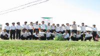 رحلة ترفيهية للأطفال المجندين والمتأثرين من الحرب إلى حديقة مأرب العامة