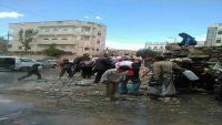 الحوثيون يضخون مياه مجاري وسط أحياء سكنية بمدينة ذمار