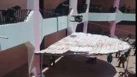 الضالع.. مدير مدرسة بقعطبة يرمي طلابه من الطابق الثاني لمبنى المدرسة