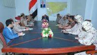 نائب الرئيس يصل مأرب ويعقد اجتماعا للقيادة المشتركة للجيش الوطني والتحالف