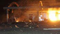 مقتل مدنيين في غارة للتحالف العربي على محطة وقود بحجة