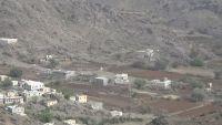 الضالع .. احتراق منزل مواطن غرب مريس في قصف لمسلحي مليشيا الحوثي