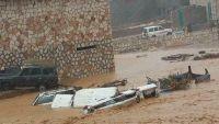 المهرة.. انقطاع شبكة الاتصالات وانهيار لبعض المنازل بسبب الإعصار