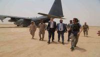 السفير الأمريكي يزور مأرب والعرادة يقول إن الزيارة لها دلالاتها