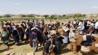 الضالع.. تشييع جثامين 4 مدنيين بينهم امرأه قتلوا في قصف حوثي