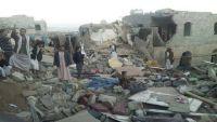 مقتل العشرات بينهم أطفال في ضربات جوية بمحافظة صعدة