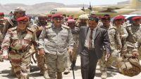 للمرة الأولى.. رئيس الأركان يلتقي قيادات عسكرية في الجيش والتحالف بحضرموت