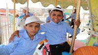رحلة ترفيهية لأطفال مجندين بمأرب