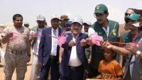 تدشين مخيمات للنازحين شمالي محافظة حجة