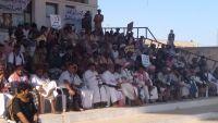 أبناء المهرة يتوافدون للاعتصام في الغيضة رفضا للأطماع التوسعية للإمارات والسعودية