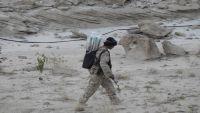 الجيش الوطني يسيطر على سلسلة جبال مطلة على مركز مديرية باقم بصعدة