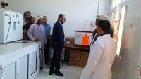 وزير الثروة السمكية يفتتح مختبر جودة الأسماك بالمهرة