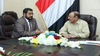 الأحمر يؤكد على استكمال تحرير صعدة وإرساء السلام والأمن في حضرموت