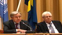غوتيريش: اتفاقنا بشأن الحديدة يعطينا أملا في حل بقية القضايا العالقة