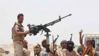 الجيش الوطني يعلن السيطرة على سلسلة جبال شرق حرض بحجة