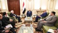 هادي: مستعدون لفتح مطار صنعاء وكافة المطارات للرحلات الداخلية