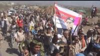 الضالع.. احتجاجات لأفراد اللواء 30 مدرع لإطلاق رواتبهم وتحريك جبهة قعطبة