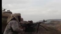 لواء العاصفة يحبط هجوماً للحوثيين على مواقعه في منطقة باقم بصعدة