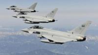 طائرات التحالف تقصف مواقع للحوثيين في كُشر بحجة