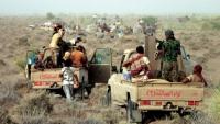الحوثيون يستهدفون مواقع متفرقة لقوات العمالقة في التحيتا