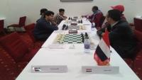 """""""المهرة"""" تفوز على الإمارات بالجولة الـ3 لبطولة الشطرنج في تونس"""