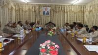 القميري يشيد بدور المنطقة العسكرية الثالثة في مواجهة الانقلاب