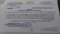 شركة النفط في ساحل حضرموت تُقر تسعيرة جديدة للمشتقات النفطية
