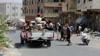 حملة أمنية تضبط عددا من المطلوبين ومسلحون يقطعون خط تعز - عدن