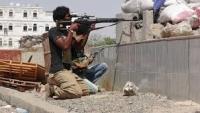 قتلى من مسلحي الحوثي إثر هجوم فاشل على مواقع الجيش شمال تعز