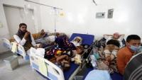 وفاة 17 شخصا وإصابة أكثر من 2000 حالة بالكوليرا خلال مارس في تعز