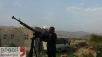 اشتداد حدة المواجهات بين قوات الجيش والحوثيين في جبهة مريس بالضالع