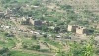 إصابة امرأتين بقصف حوثي على قرى المسراخ جنوبي تعز