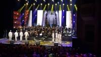 90 عازفا يعزفون مقطوعات موسيقية من اللون الحضرمي في ماليزيا