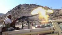 إحباط هجوم للحوثين على منطقتي الشقب والأقروض بتعز