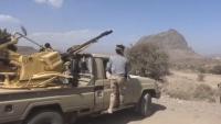 الضالع .. اشتعال المواجهات في جبهة حمك وتدمير طقم عسكري للحوثيين بمريس