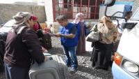 الهجرة الدولية تعلن إجلاء 222 مهاجرا إثيوبيا من صنعاء إلى أديس أبابا