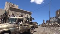 القوات الحكومية تحقق تقدماً في الضالع من عدة محاور