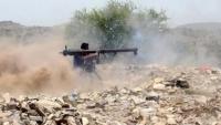 تقدم للحوثيين في منطقة الحجر غربي الضالع