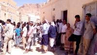 احتجاجات بحضرموت على تردي خدمة الكهرباء والبحسني يحمل الحكومة المسؤولية