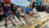 مؤسسة رعاية تتبرع بـ40 ألف دولار لجرحى الجيش في تعز استجابة لنداء استغاثة الجرحى