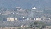 تقدم للجيش بالضالع وإصابة مدنيين بقصف حوثي استهدف قرى بقعطبة