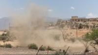 إصابة مواطن في قصف حوثي استهدف قرى بالضالع