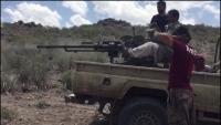 قتلى وجرحى في معارك بالضالع والحوثيون يقصفون منزلاً بصاروخ كاتيوشا