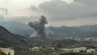 غارات للتحالف تستهدف مواقع وآليات عسكرية للحوثيين في الضالع وإب
