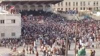 مظاهرة حاشدة  في المهرة للمطالبة برحيل القوات السعودية