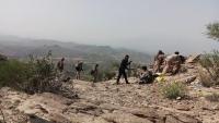 الجيش الوطني يحبط هجمات حوثية شمال الضالع
