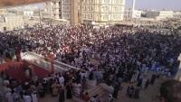 لجنة اعتصام المهرة تؤكد مضيها بالتصعيد حتى إقالة باكريت ورحيل القوات السعودية